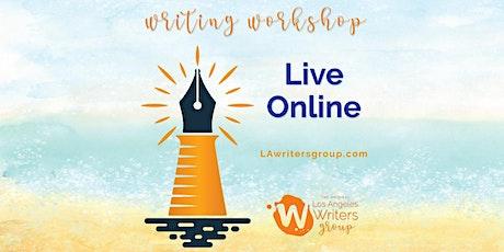 Creative Writing Workshop - Live Online tickets