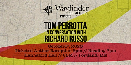 Book To Film - Tom Perrotta in Conversation with Richard Russo tickets