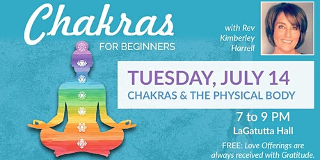 Your Physical Body & Your Chakras - Chakras  for Beginners St. Petersburg tickets