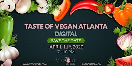 A Taste of Vegan Atlanta: DIGITAL tickets