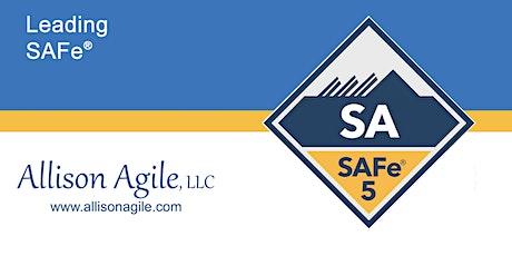 GUARANTEED TO RUN (Remote) SAFe 5.0 Leading SAFe - San Antonio, TX (Sep 10/11) tickets