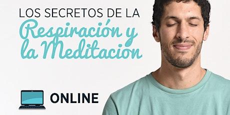 Los secretos de la respiración y meditación entradas