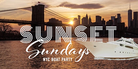 Sunset Sundays on the All White Yacht Cruise Latin + Hip Hop Boat Party (Avalon) tickets