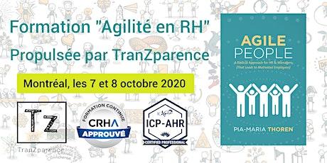 "Formation ""AGILITÉ en RH""  tickets"