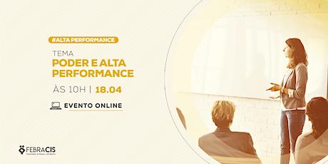 Palestra Online - Poder e Alta Performance ingressos