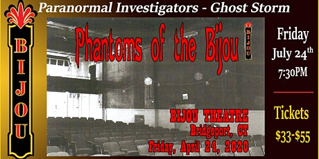 Phantoms of the Bijou tickets