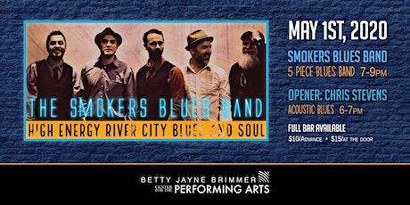 THE SMOKERS BLUES BAND ($10 ADVANCE/ $15 DAY OF SHOW) tickets