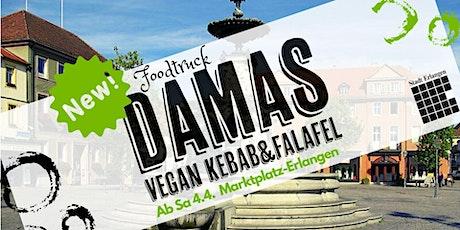 Neueröffnung Foodtruck Damas Vegan Kebab in Erlangen 50% Gutschein Tickets