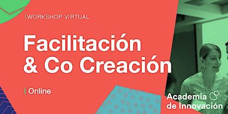 Workshop de facilitación y co creación virtual entradas