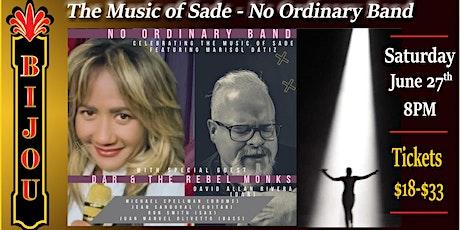 The Music of SADE - No Ordinary Band tickets