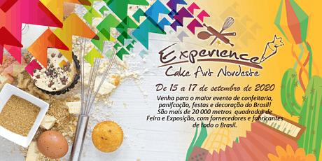 Experience Cake Art Nordeste 2020 ingressos