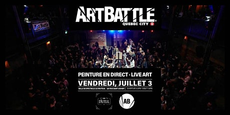 Art Battle Quebec City - 3 juillet, 2020 billets