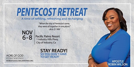 Pentecost Retreat: A Time of Refilling, Refreshing and Recharging tickets