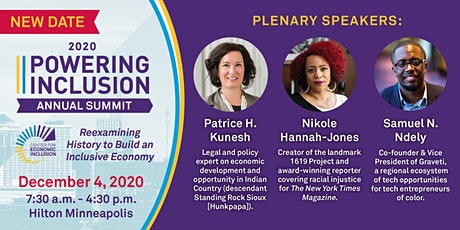 2020 SUMMIT: Reexamining History to Build an Inclusive Economy tickets