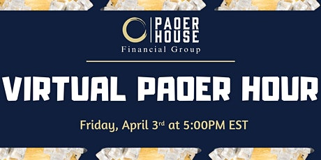 PAOER HOUR: VIRTUAL HAPPY HOUR tickets