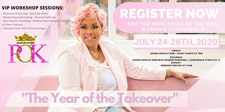 POK 2020 Princesses of The King Womens Conference tickets