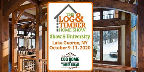 Lake George, NY 2020 Log & Timber Home Show tickets