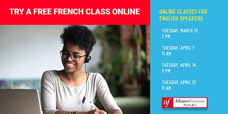 Free Online French Classes for English Speakers tickets