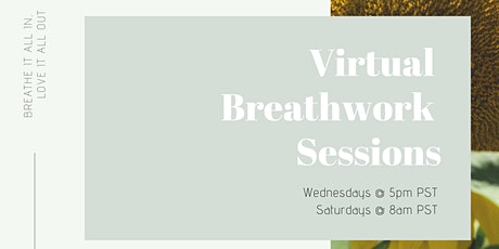 Virtual Breathwork Sessions:  Hosted by Lauren Tancredi tickets