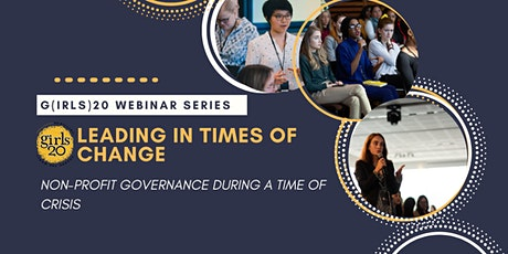 Non-profit Governance in a Crisis tickets