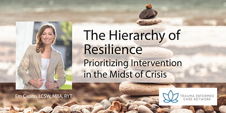 Hierarchy of Resilience: Prioritizing Intervention in the Midst of Crisis tickets