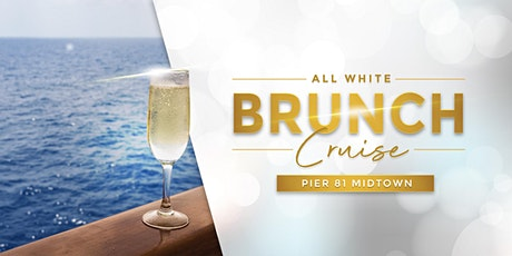 ALL WHITE Sunday Brunch Yacht Cruise in Manhattan - NYC Boat Party tickets