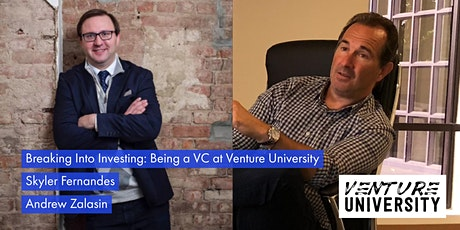 Break Into VC With Venture University: The World's Leading Investor Accelerator tickets
