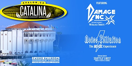 Catalina Casino Concert Series featuring Metallica and ACDC Tributes tickets