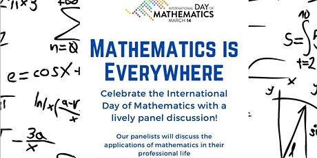 Mathematics is Everywhere - Virtual Edition (Webinar) tickets