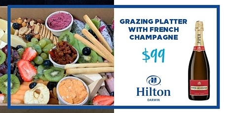 Grazing Platter with French Champagne tickets