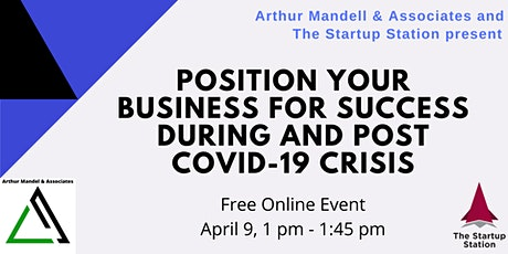 Position your business for success during and post COVID-19 crisis tickets