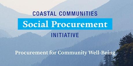 Webinar - Evaluation and Impact Measurement of Social Procurement tickets