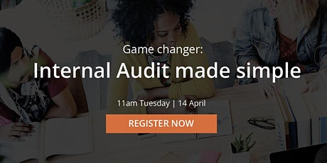 Free webinar: Internal Audit made simple tickets