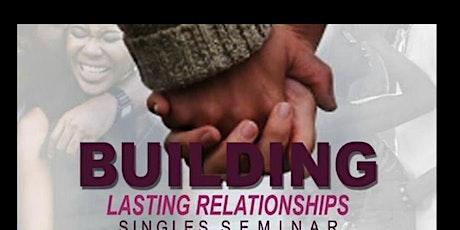 Relationship Seminar For Singles tickets