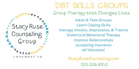 Online DBT Skills Group Therapy - Adults - Learn Coping Skills tickets