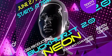 Buckhurst 2.0 Neon Party  2020 tickets