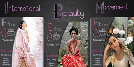 Ethnic Queen Magazine Middle Eastern Arab Modeling Contest Free Online tickets