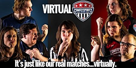 Virtual ComedySportz Chicago! tickets