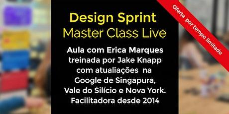 Design Sprint - Master Class Live ingressos
