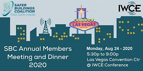 Safer Buildings Member's Networking Reception, Dinner and Meeting - 2020 tickets
