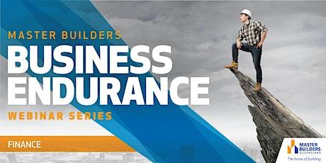 Business Endurance Webinar Series - Finance tickets