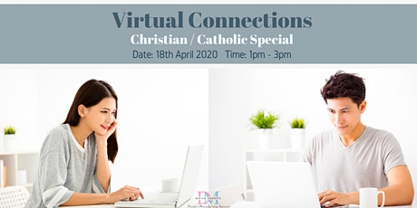 DM Virtual Speed-Dating Event! Christians & Catholics Special (With Videoconferencing & 1-to-1 Rotations) tickets