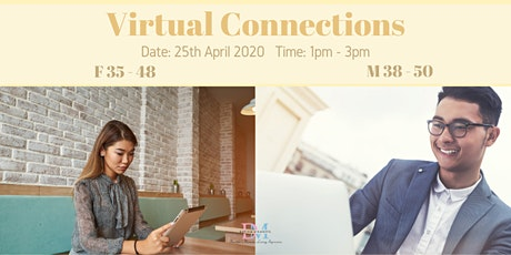 DM Virtual Speed-Dating Event! (F 35-48, M 38-50) (With Videoconferencing & 1-to-1 Rotations) tickets