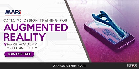 MARii CATIA V5 and Augmented Reality Workshop 2020 tickets