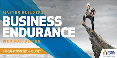 Business Endurance Webinar Series - Information Technology tickets