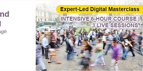 Expert-Led Digital Mastercalss: Predictive Profiling tickets