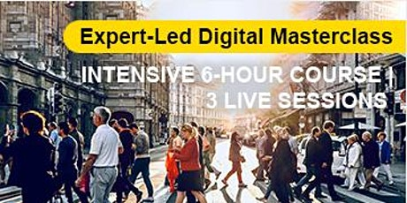 Expert-Led Digital Masterclass: Emergency Preparedness and Recovery tickets