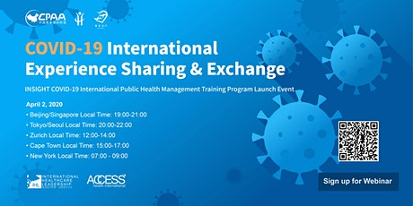 COVID-19 International Experience Sharing & Exchange billets