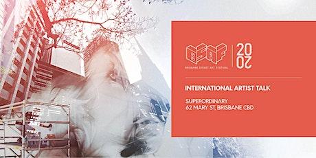 International Artist Talk tickets