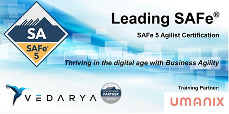 VIRTUEL - Leading SAFe-Certified SAFe Agilist 5.0(Français)-17 & 24 avril billets
